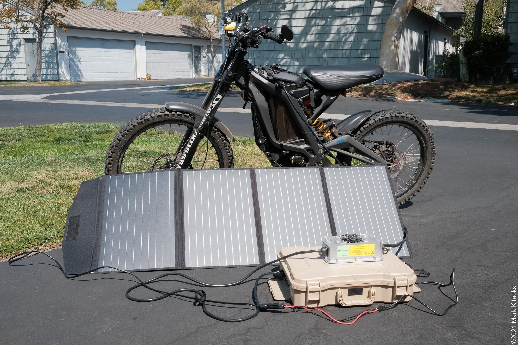 Solar Charging My Sur Ron
